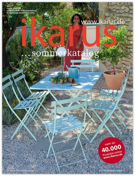 versandhaus ikarus design handel gmbh kostenloser katalog anfordern ikarus design katalog. Black Bedroom Furniture Sets. Home Design Ideas